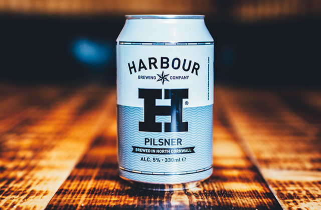 Harbour Pilsner Can