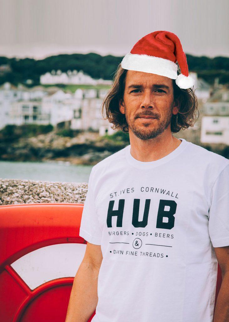Marcus Tee Christmas Hat